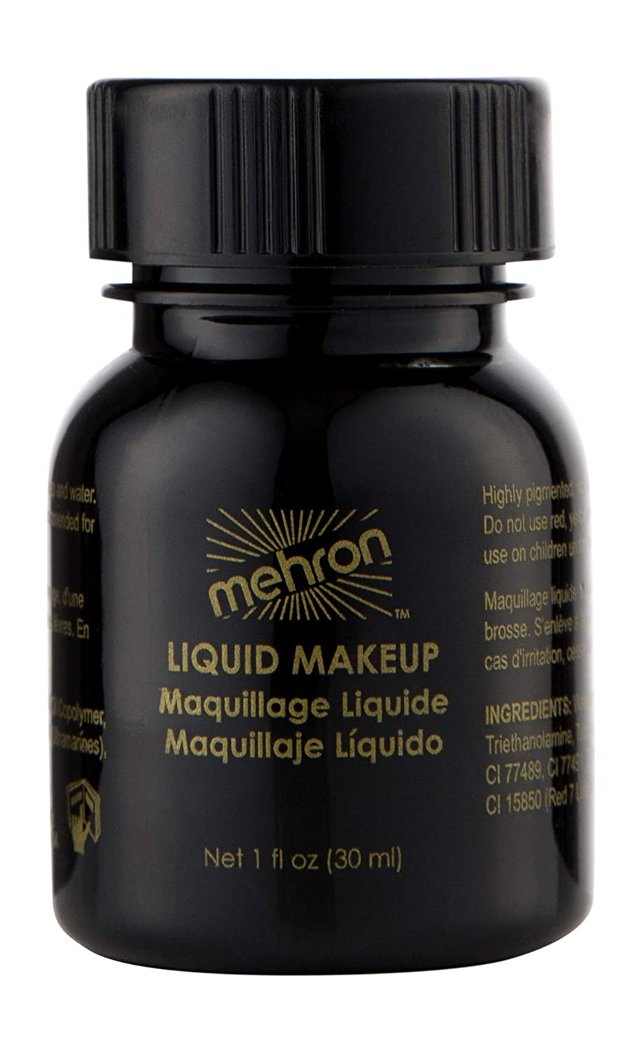 Mehron Liquid Face Paints - Blue BL (4.5 oz) by Mehron (English Manual) B008P0LFJM
