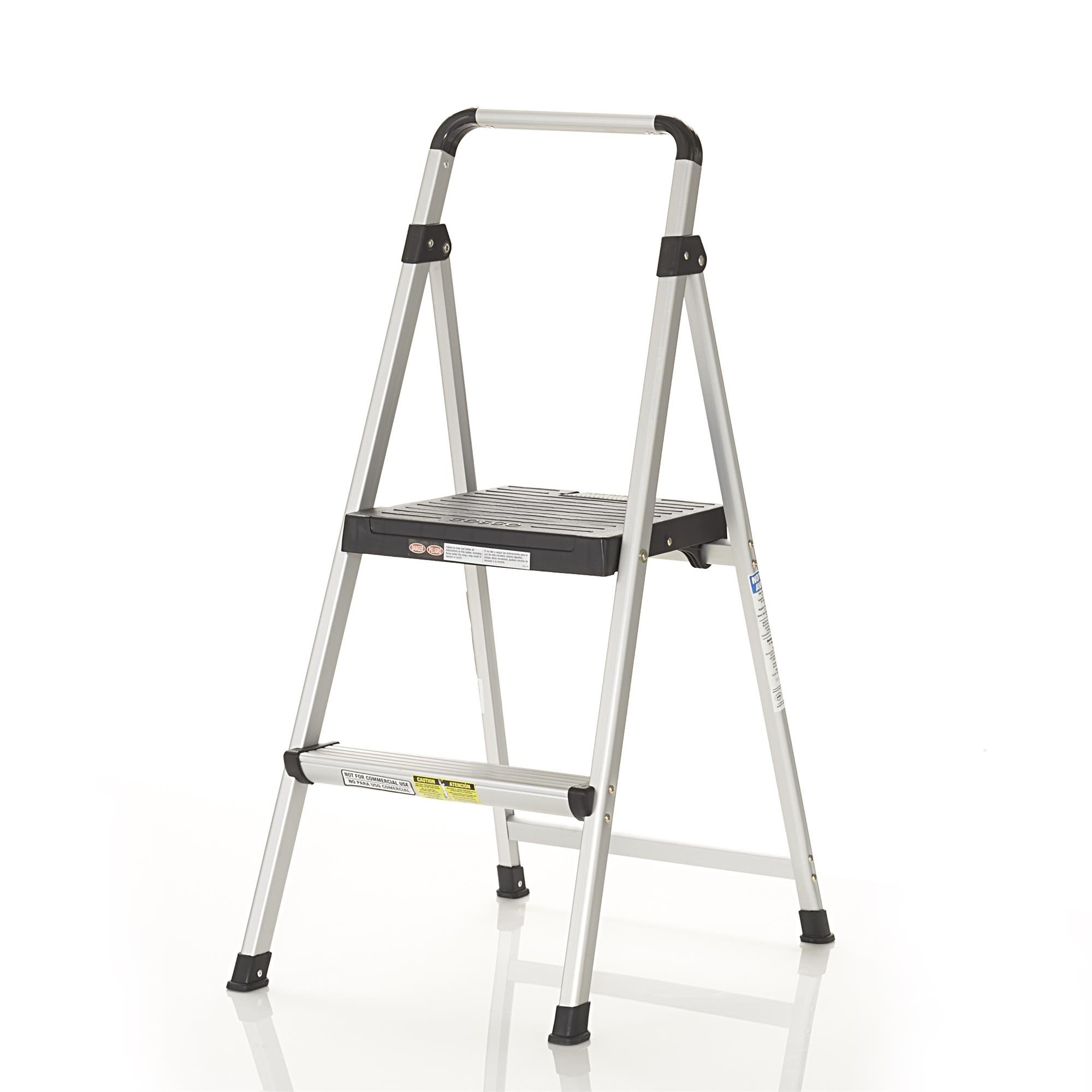 Cosco Two Step Lite Solutions Folding Step Stool Slip