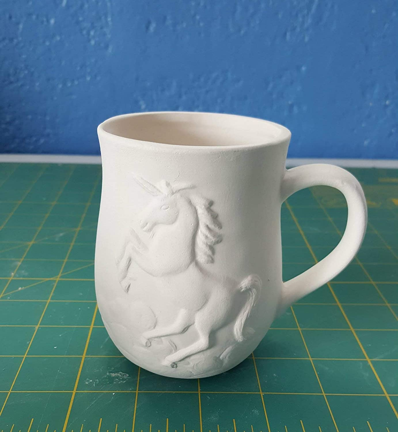 Bisque Unpainted, ready for glaze Unicorn