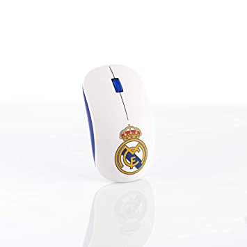 Real Madrid RMMOU001 - Ratón inalámbrico, Color Blanco: Amazon.es: Informática