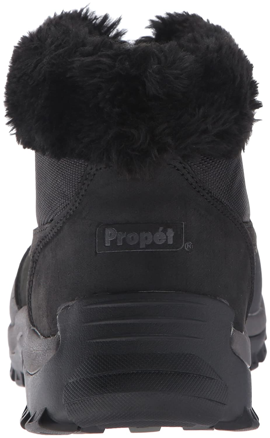 Propet Women's Blizzard Ankle Zip Ii B(M) Winter Boot B01AYP4E4I 7.5 B(M) Ii US|Black/Nylon 4815be