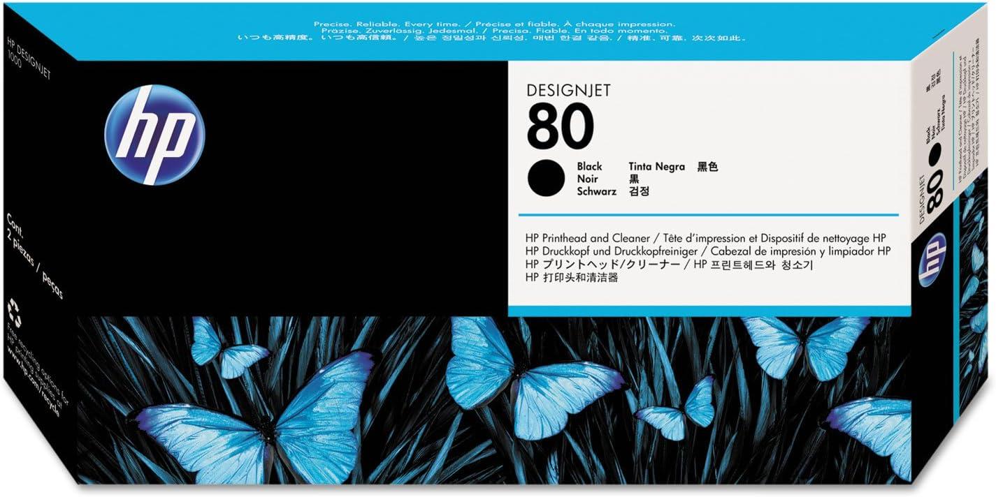 HEWC4820A - HP 80 Black Printhead/Cleaner