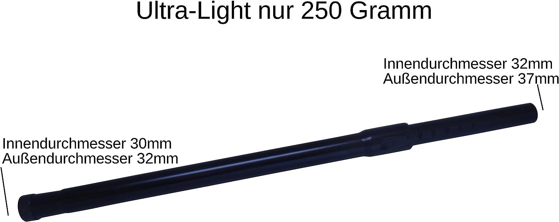 in alluminio Tubo telescopico per aspirapolvere 5 profumatori incl per modello AEG AB 34 Serie Berry 32 mm Cleanwizzard