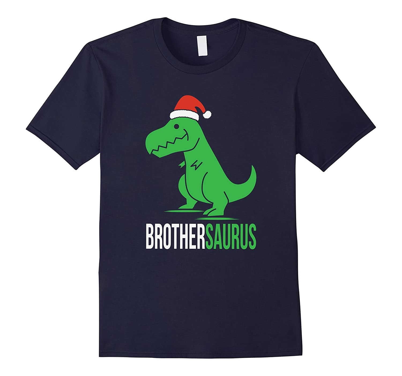 Brother Saurus T-Rex Christmas Family Matching T-Shirt-ANZ