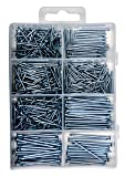 Qualihome Hardware Nail Assortment Kit, Includes