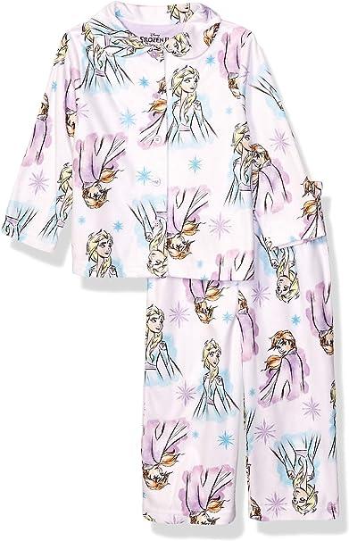 Disney Girls Frozen 2 Cotton Sleepwear Sets Multi-Color