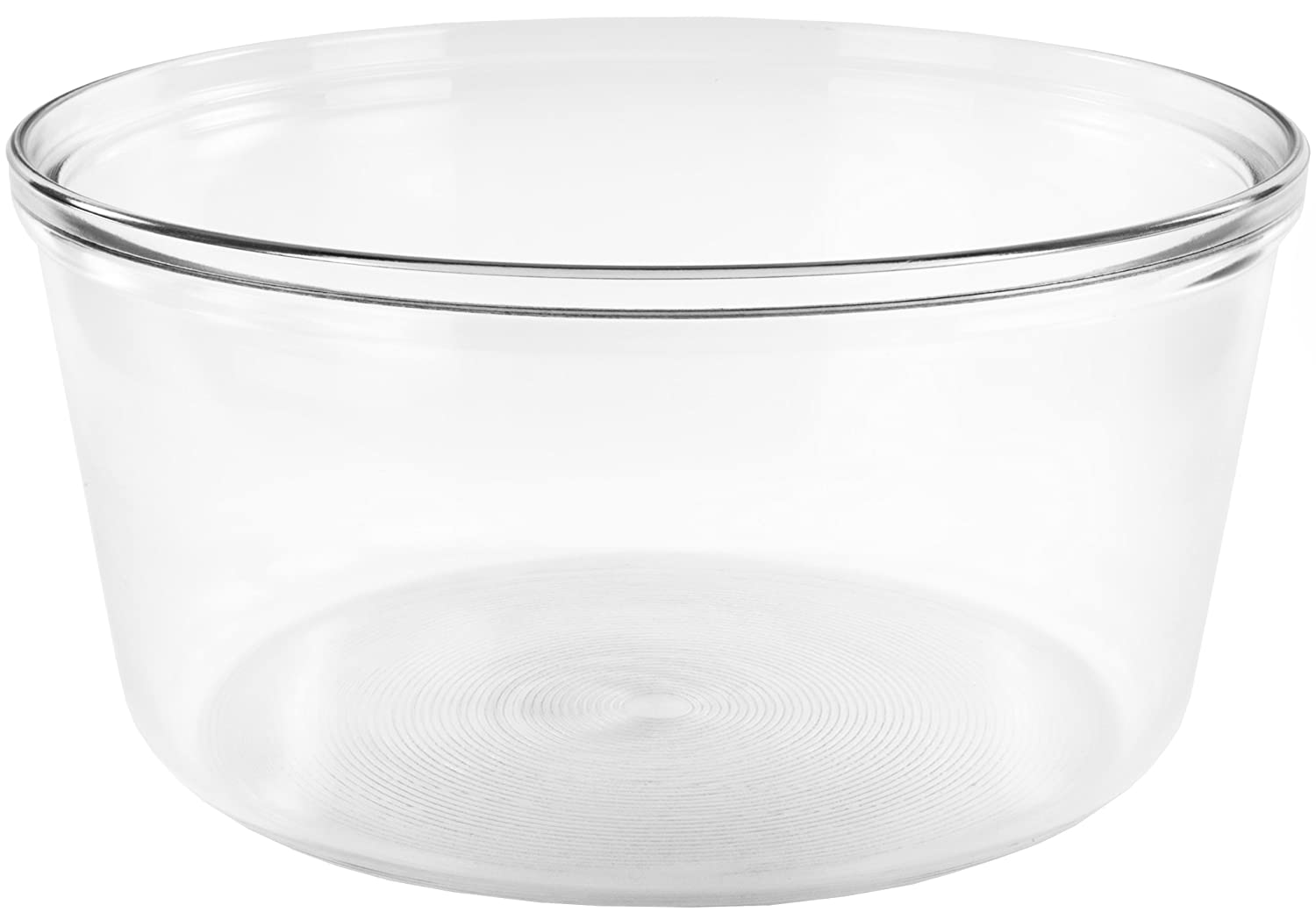 Andrew James Halogen Oven Glass Bowl | 33.5cm x 33.5cm x 17cm Replacement Spare Bowl 5060146061025