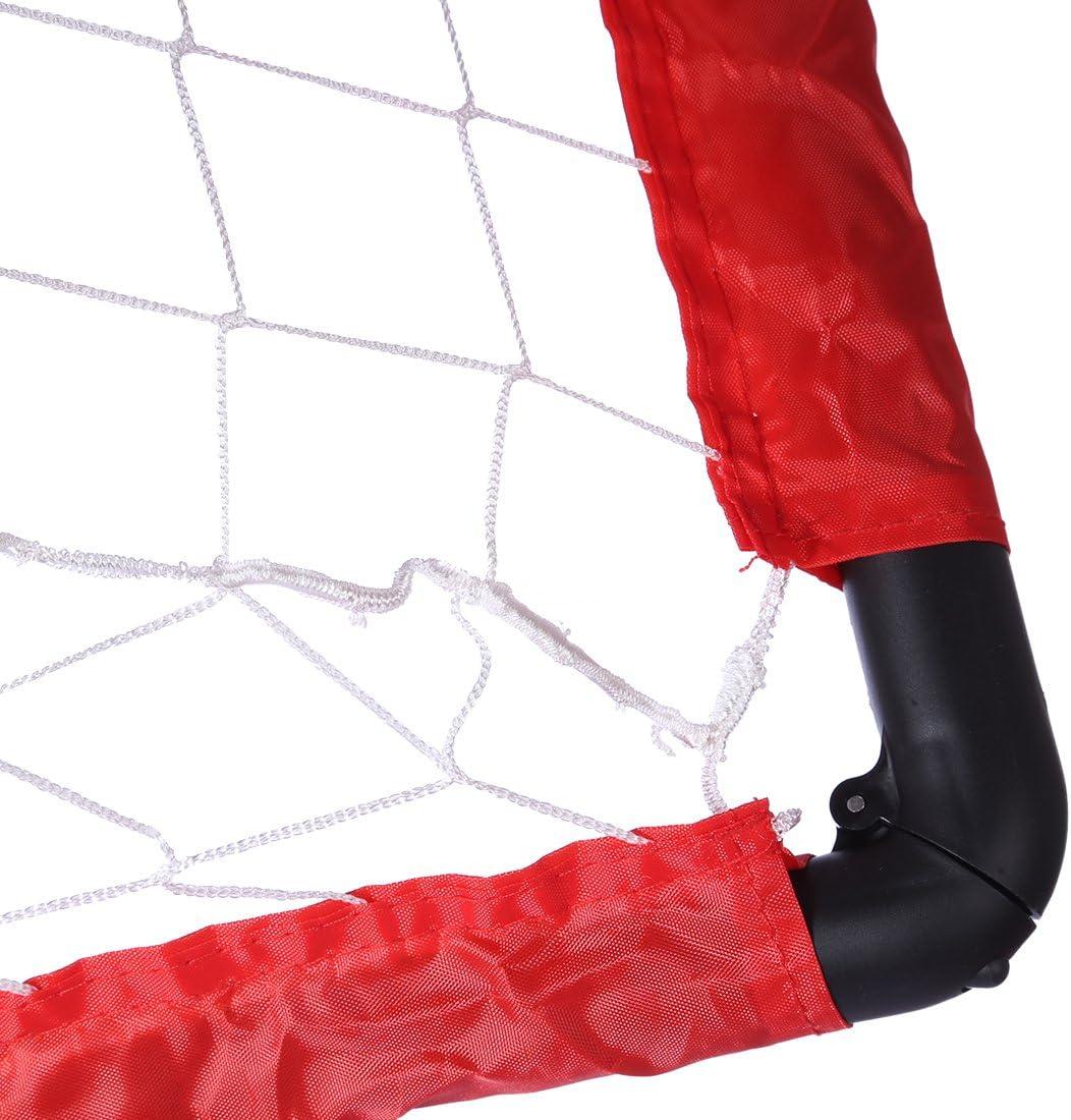 Leic Football Goal Port/átil Plegable Soccer Goal Football Net Juego de Puerta de f/útbol Football Gate Juguete Deportivo para Interiores y Exteriores para ni/ños