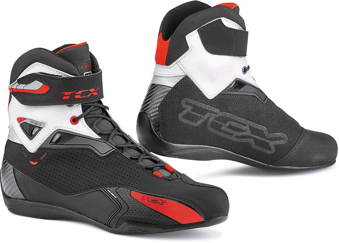 TCX Motorcycle Boots Rush Black Black 42