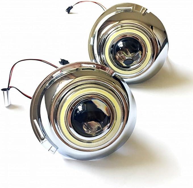 AupTech CCFL ojos de ángel DRL luces antiniebla H11 55 W bombillas ...