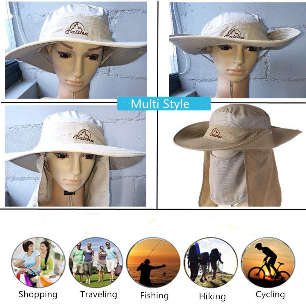 Wide Brim Fishing Sun Hat-360°...