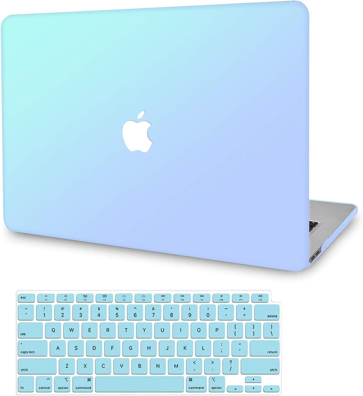 Carcasa Funda Dura Protector Pl/ástico Cubierta para Nuevo MacBook Air 13 con Retina Pantalla y Touch ID,M/ármol Verde Rosa AJYX Funda MacBook Air 13 Pulgadas 2019 2018
