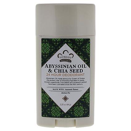 Amazon.com: Nubian Heritage 24 Hour – Desodorante Abisinio ...