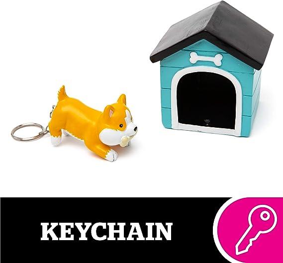 Top Dog House /& bone w Collar Purse Charm Key chain handmade USA 1326