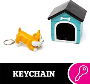 Funny Beware Crazy Rat Man Keyring Key Chain