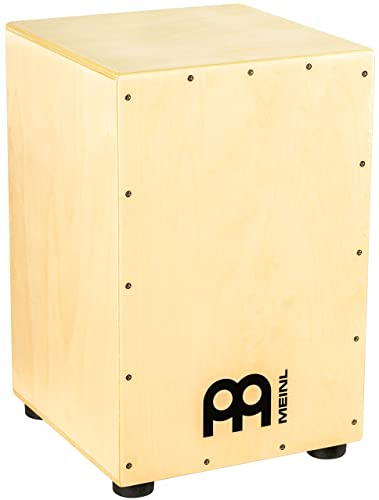 Meinl Cajon Box Drum with Internal Metal Strings for Adjustable Snare Effect