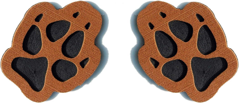 ToeJamR Snowboard Stomp Pad -2 PUPPY PAWS - 褐色