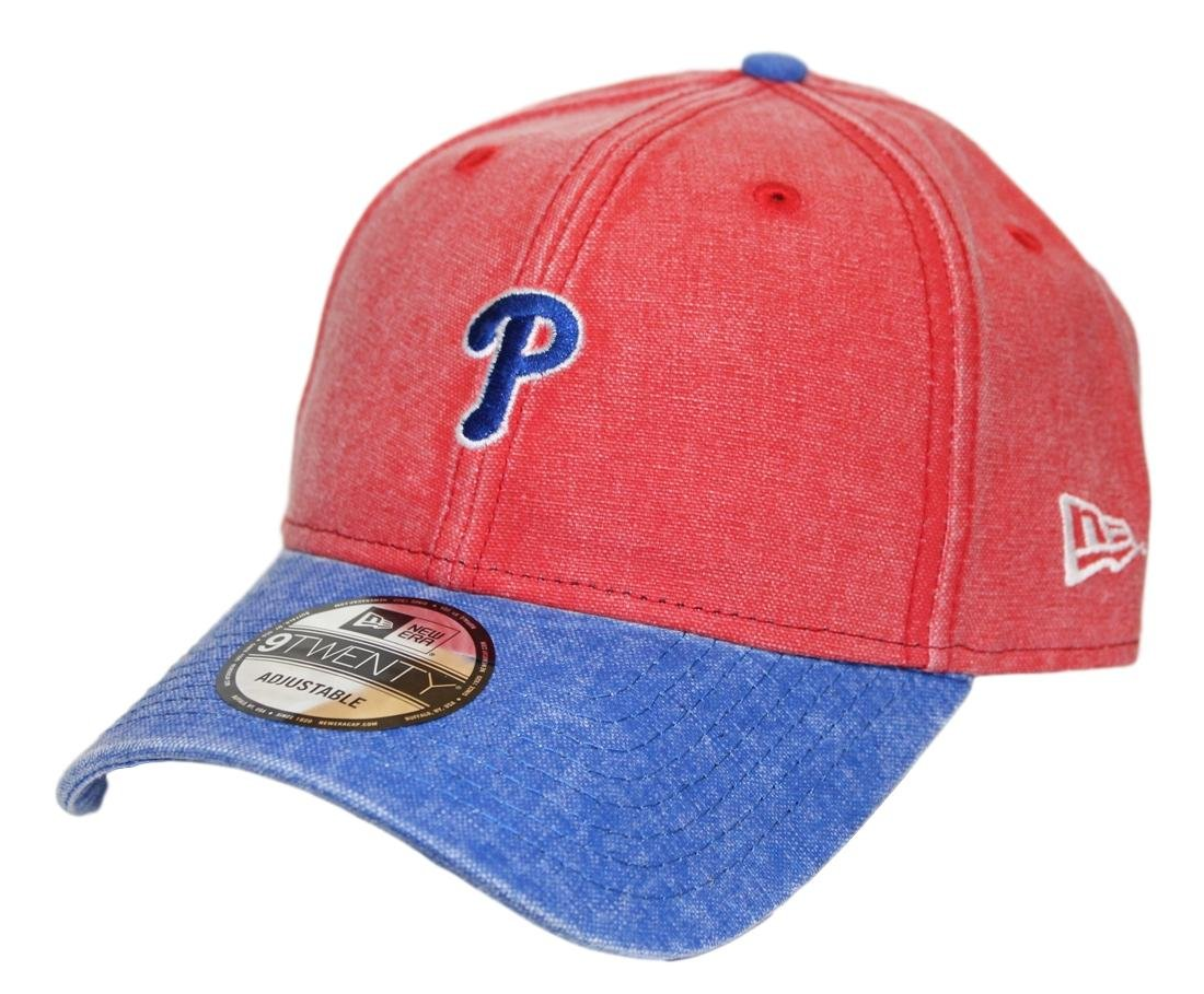 buy popular d1dea b8842 Amazon.com   New Era Philadelphia Phillies 9Twenty MLB Rugged Canvas Adjustable  Hat   Sports   Outdoors