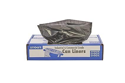 Stout total el contenido reciclado bolsas de basura, 10 ...