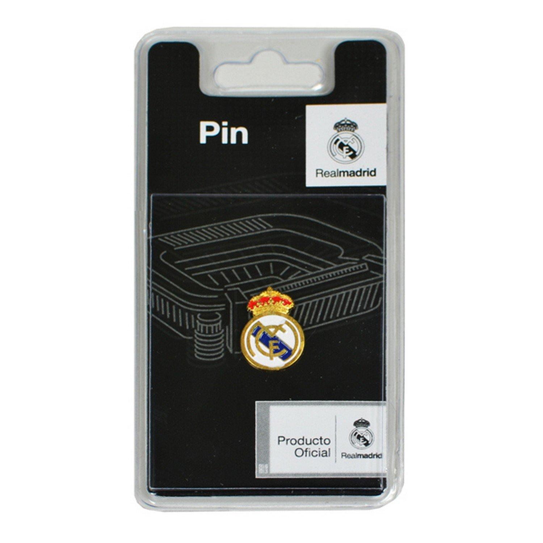 Real Madrid - Pin Escudo (chapas/broches/Pins): Amazon.es: Juguetes y juegos