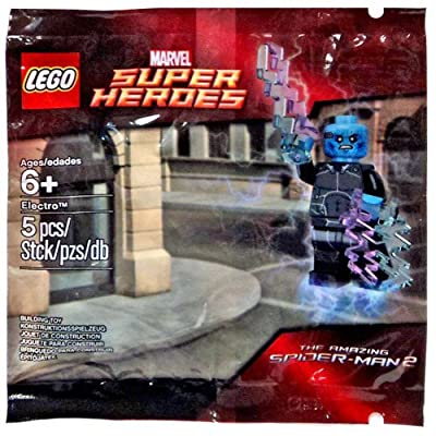 LEGO, Marvel Super Heroes, The Amazing Spider-Man 2 Movie, Electro [Bagged]: Toys & Games
