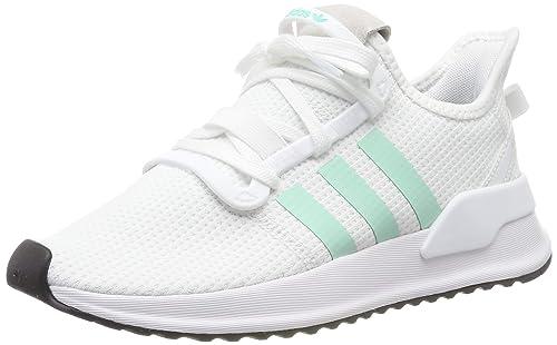 adidas U_Path Run blanche et verte femme Chaussures adidas