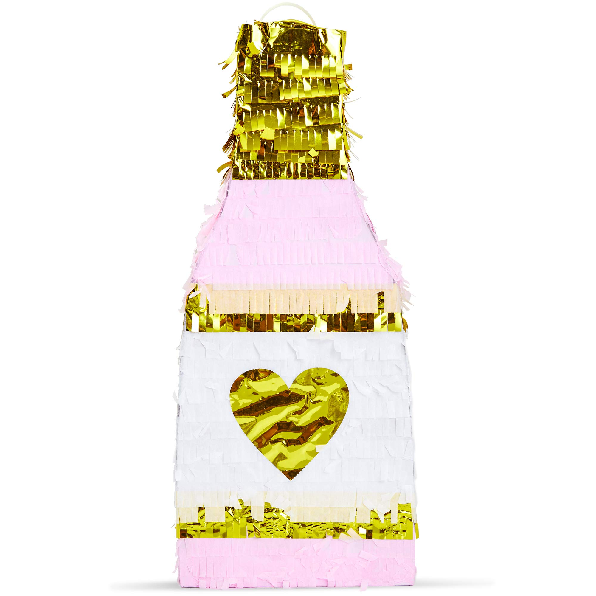 Sparkle and Bash Champagne Bottle Party Pinata by Sparkle and Bash