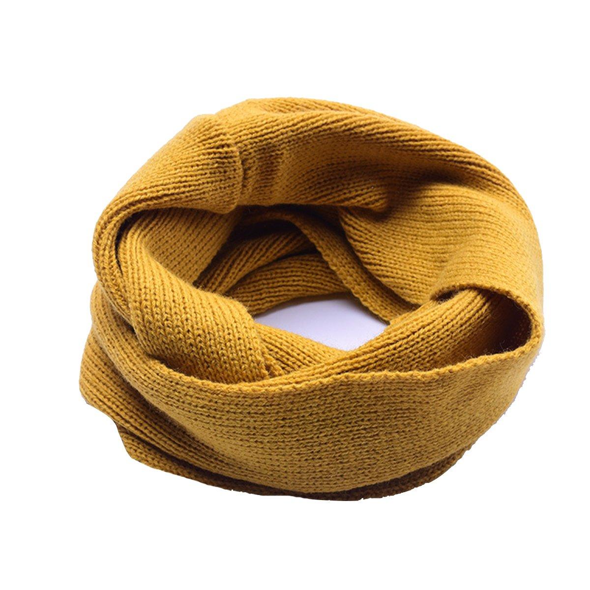Butterme Inverno Snood Sciarpa tubo della sciarpa a maglia sciarpa Loop bambini ragazzi e ragazze morbido bambini sciarpa calda sciarpa Loopschal