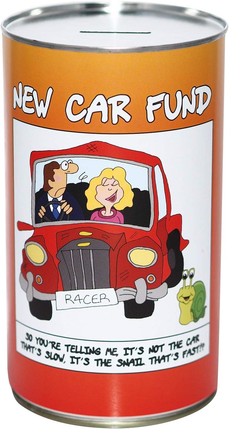 Large Savings Tin CanTastic New Car Saving Fund