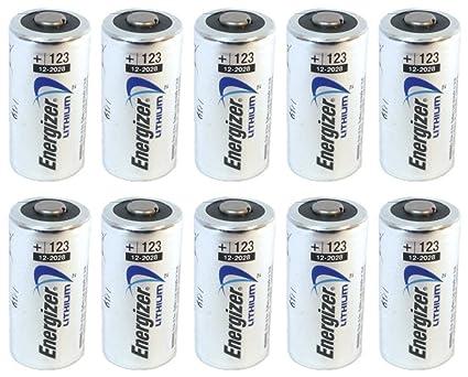 Amazoncom 10 Pcs Energizer Lithium Cr123a 3v Photo Lithium