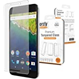 Orzly® - Premium Tempered Glass Screen Protector for HUAWEI NEXUS 6P SmartPhone (5.7 Inch Version - 2015 Model) - 0.24mm Protective Oleophopbic Screen Guard - Transparent