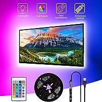 LED TV-achtergrondverlichting,SHOPLED 3M USB Led Strip TV-verlichting,Led Backlight IR remote,SMD 5050 biasverlichting…