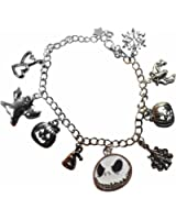 Amazon.com: Bracelet - Nightmare Before Christmas - w/Charm New ...