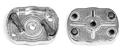 Placa de accionamiento para desbrozadora, por ejemplo, motor de arranque de Timbertech