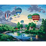 Amazon Com Dimensions Paint By Number Kit Summer Cottage