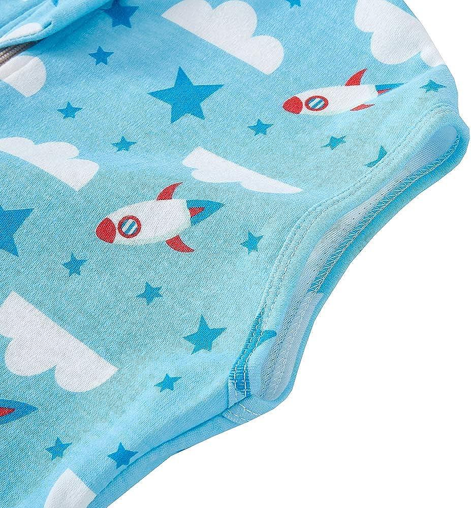 Babyschlafsack sommerschlafsack Baby m/ädchen Jungen Fr/ühling Schlafanzug Neugeborene 0.5 Tog