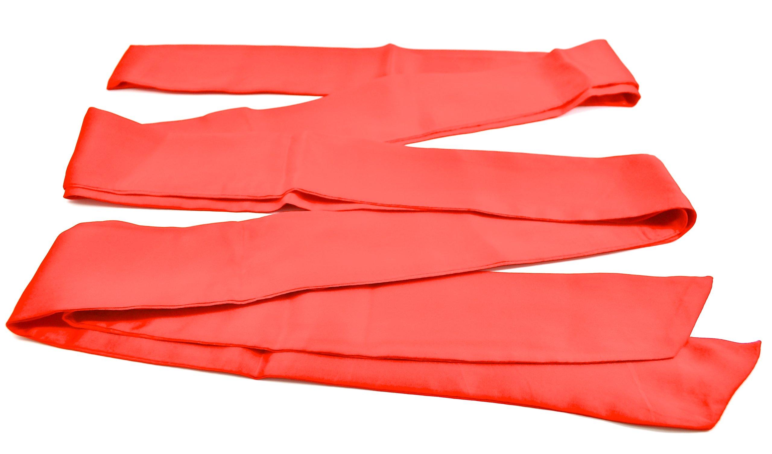 Silk Restraint Sash   Luxurious 100% Pure Silk Restraint   13' Sash (Red) by Sade Fantasy (Image #3)