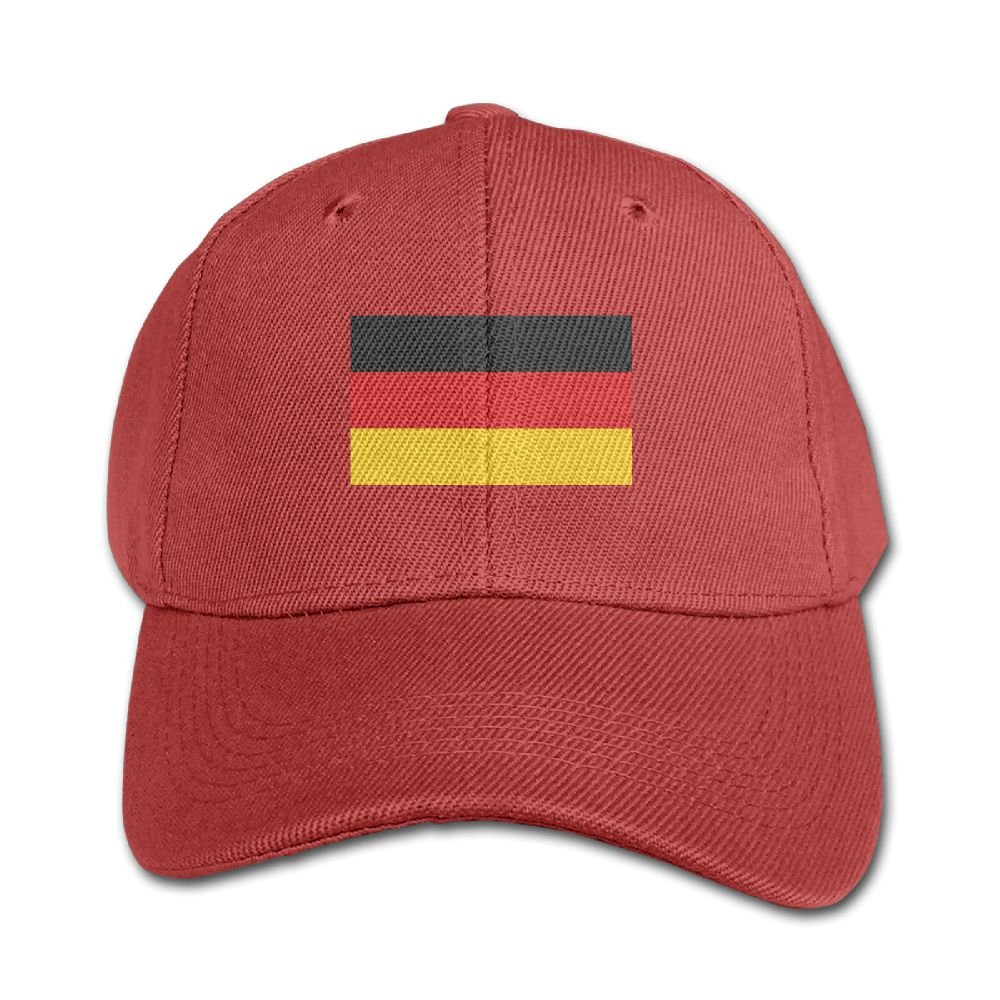 Elephant AN Germany Flag Pure Color Baseball Cap Cotton Adjustable Kid Boys Girls Hat