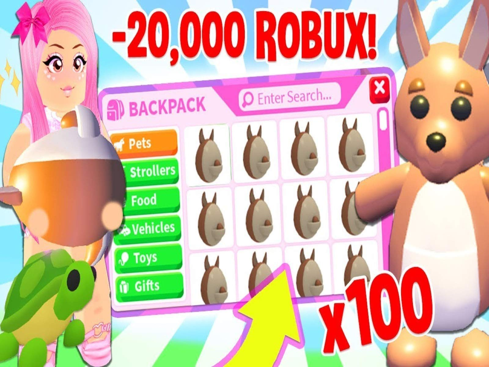 Roblox Adopt Me Pets Vehicles And Strollers New Aussie Egg Pets Watch Clip Leah Ashe Prime Video
