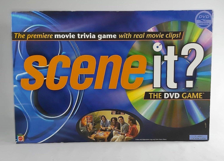 Scene It? the DVD Movie Trivia Game
