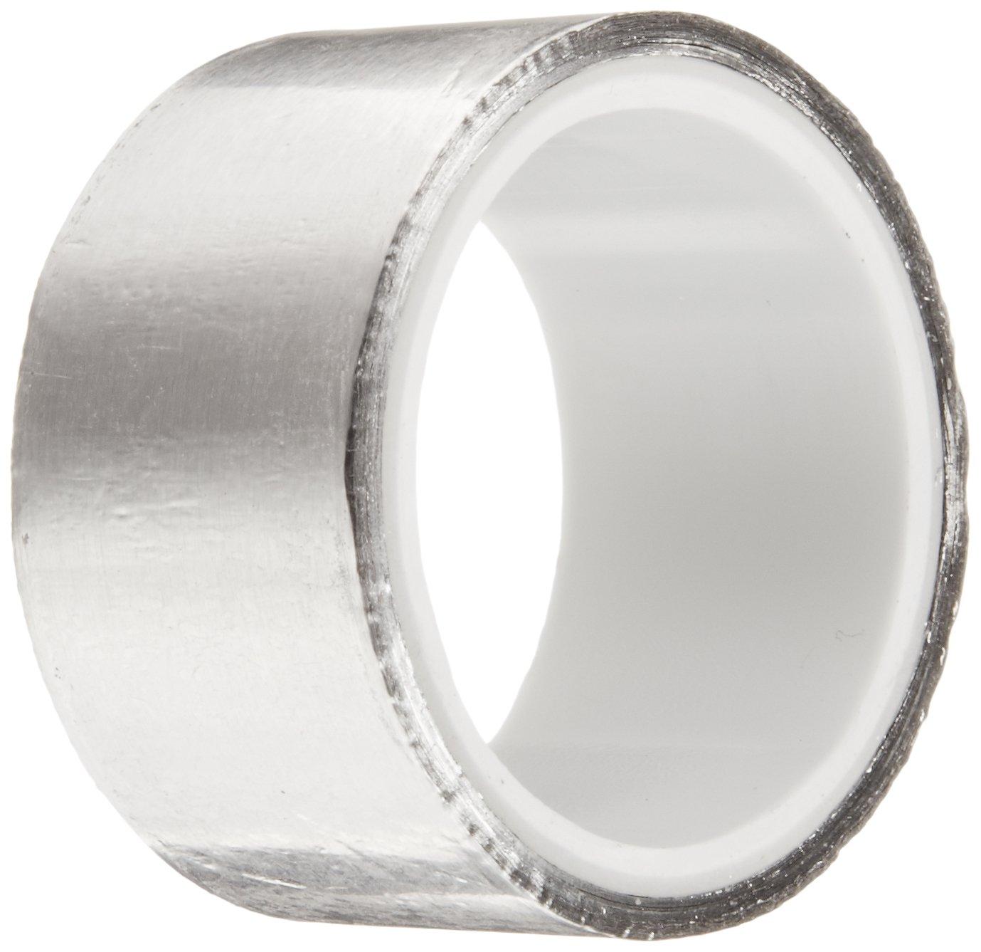 3M 4380 Shiny Silver Aluminum Foil Tape, 1