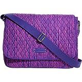 Vera Bradley Women's Laptop Messenger Impressionista Stripe Messenger Bag