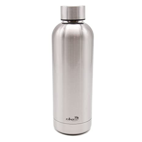 ZOLLNER24 Botella térmica de Agua de Acero Inoxidable 500 ml ...