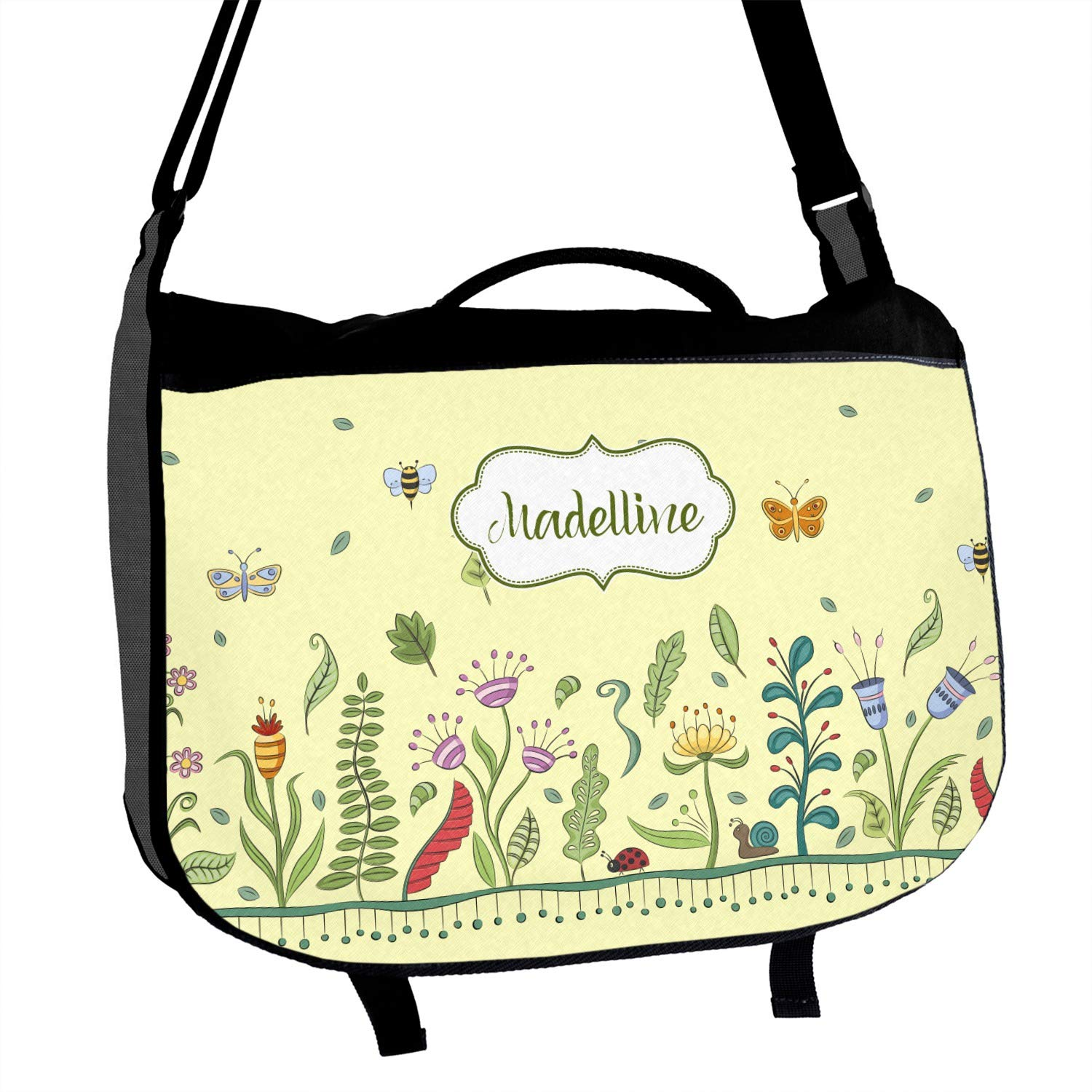 Personalized Nature Inspired Messenger Bag