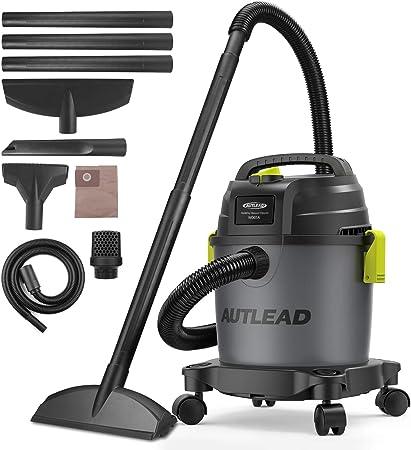 AUTLEAD - Aspirador de Agua Polvo/Aspirador de 10 L, 1000 W ...