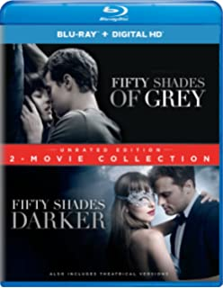 Fifty Shades Of Grey Fifty Shades Darker 2 Movie Collection Blu Ray