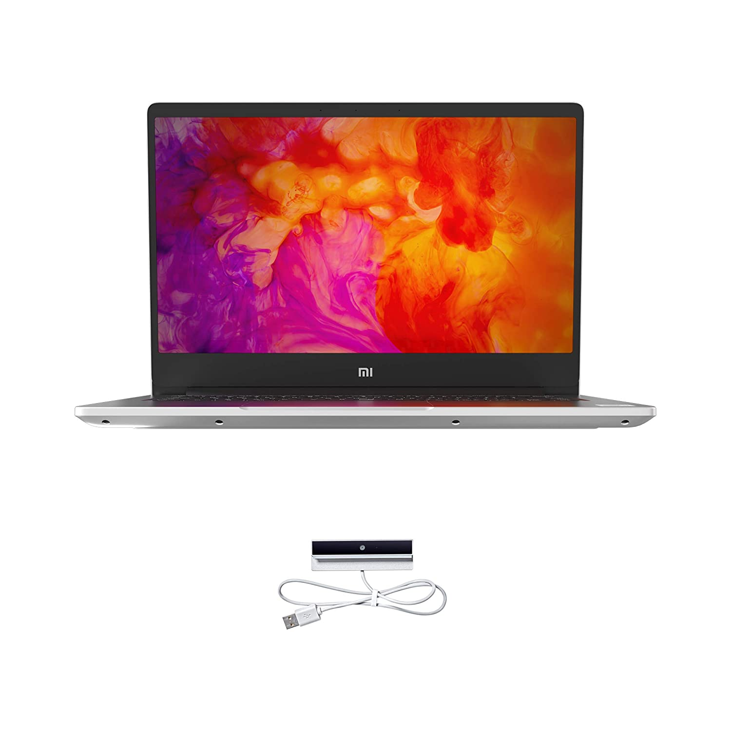 Mi Notebook 14 Intel Core i5-10210U 10th Gen Thin and Light Laptop(8GB/256GB SSD/Windows 10/Intel UHD Graphics/Silver/1.5Kg), XMA1901-FC+Webcam