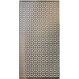 "M-D Hobby & Craft Aluminum Metal Sheet, 12"" by 24"", Chain Link"