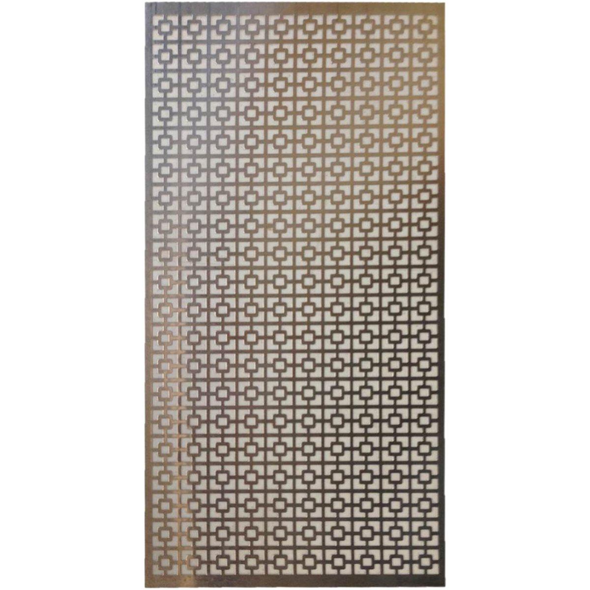 M-D Hobby & Craft 57-540 Aluminum Metal Sheet, 12' by 24', Chain Link