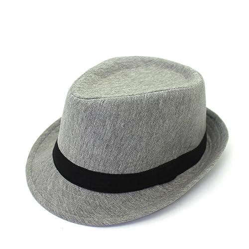Sombrero De Parejas Primavera Y Otoño Sombrero Del Jazz Casquillo Del Recorrido Al Aire Libre Un Ala...